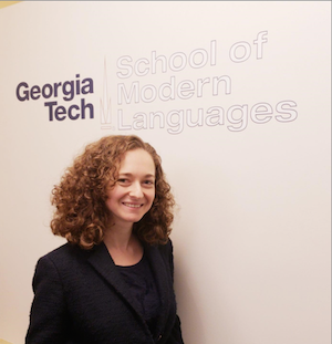 Jenny Strakovsky [pictured], Assistant Director of Career Education and Graduate Programs for the School of Modern Languages