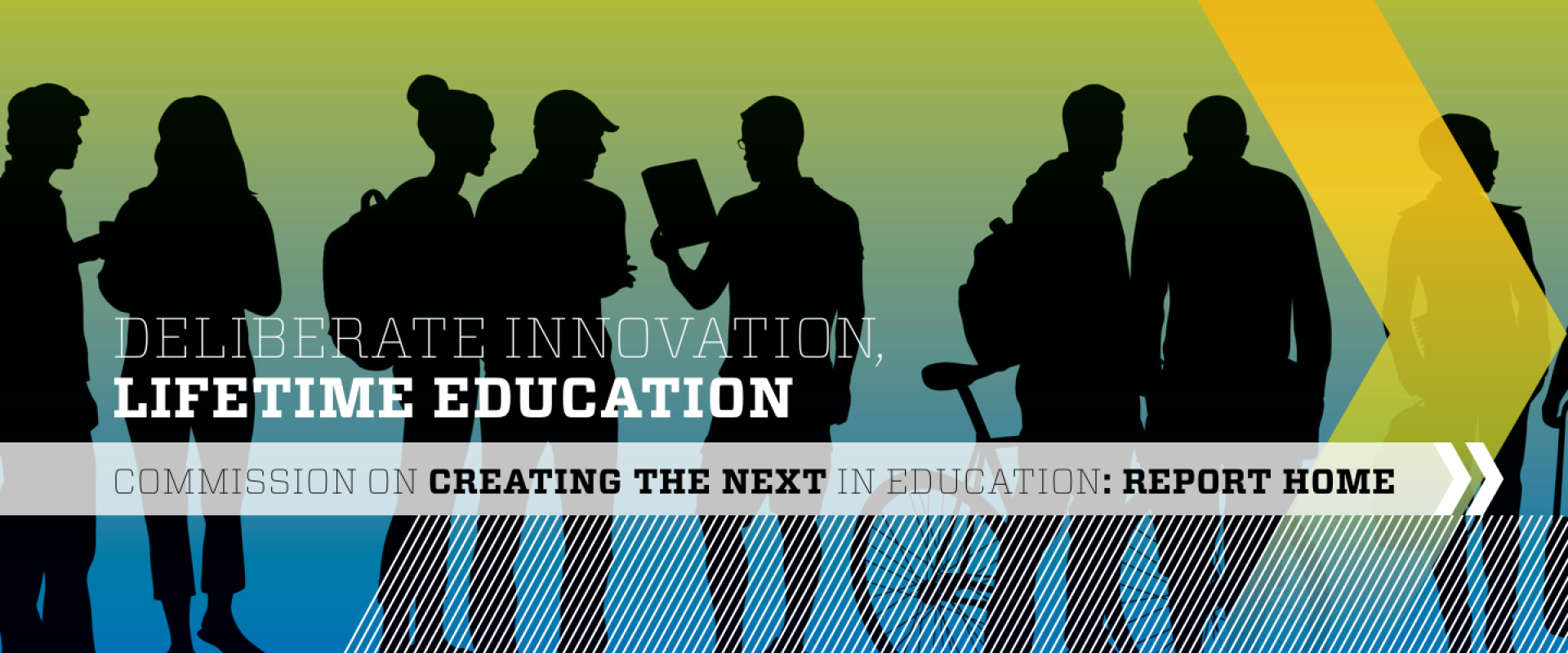 Link to Commission on Creating the Next in Education Final Report: Deliberate Innovation, Lifetime Education